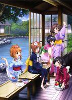 Girls und Yukata
