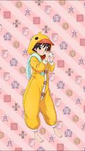 Noriko-duck-outfit-upbystan