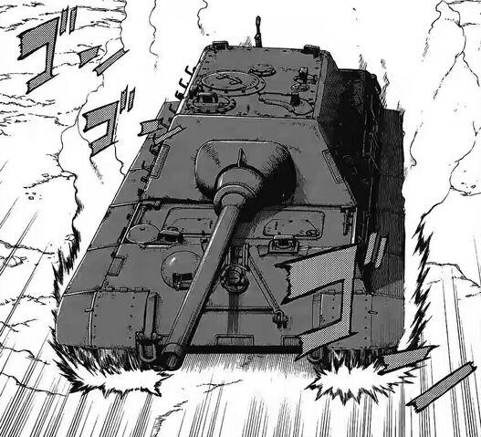 File:Jagdtiger Charging.jpg