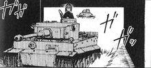 Tiger I in the manga