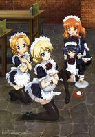 Girls und Maids