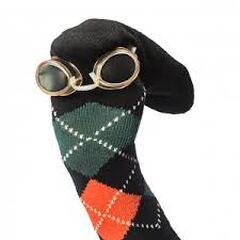 Calcetín con Rombos Man, mi 25va imagen de perfil