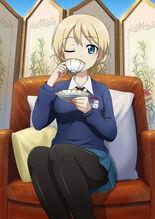Darjeeling having tea
