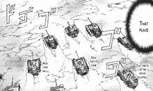 Group of tanks