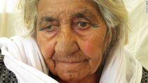 Old yazidi woman