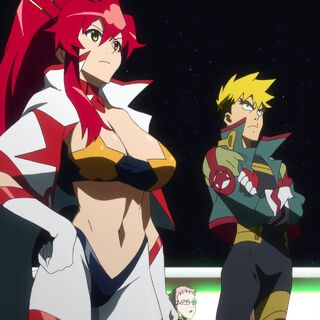 Yoko on the Super Galaxy Dai-Gurren