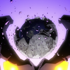 The Anti-Spiral homeworld on Granzeboma's head