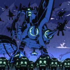 Lordgenome conquering the Earth.
