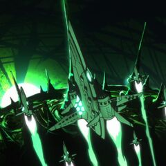 Lordgenome's Arc-Gurren fleet.