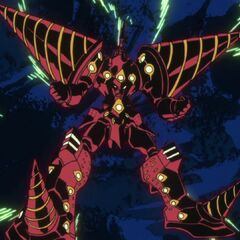 Cathedral Lazengann, Lordgenome's equivalent to Super Galaxy Gurren Lagann
