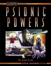 GURPS Psionic Powers cover