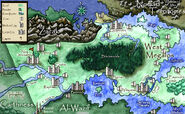 Megalos West Map