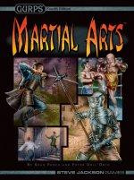 GURPS 4e Martial Arts cover