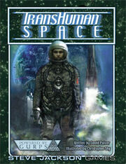 GURPS Transhuman Space cover