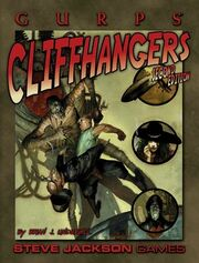 GURPS Cliffhangers cover