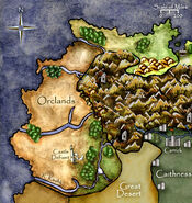 Orclands Map