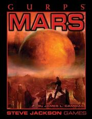 GURPS Mars cover