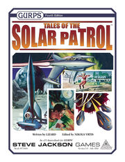 GURPS Tales of the Solar Patrol cover