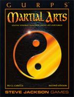GURPS 3e Martial Arts cover