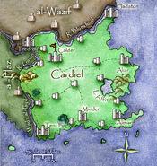 Cardiel Map