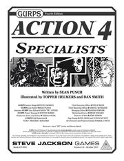 GURPS Action 4 Specialists Cover