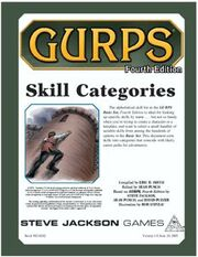 GURPS Skill Categories Cover