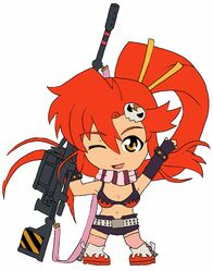 Chibi yoko littner by animereviewguy-d4o2cac