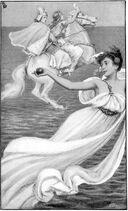 Frontispiece--Tales of the Enchanted Islands of the Atlantic 1899