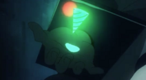 Simon manifestacja spiralnej energii (anime)