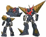 6ef691ec8fe0f497362c901838f6738a--gurren-lagann-super-robot