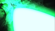 Episode 22 Arc Gurren lagann pousse lune