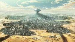Kamina city