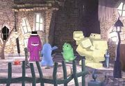Monster Village before the attack