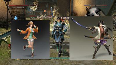 Zhao Yun, Xiaoqiao, Oka - 2018 March 16th Games - Warriors Orochi 4 Curse of the Demon Snake 20190515 105013 Crashless