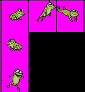 Frog - Smurfs SNES Games