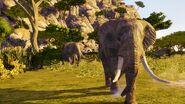 African Elephant in Warriors Orochi 4