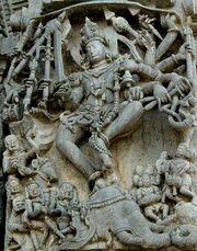 Hoysala carving