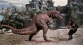 Tumak Vs Allosaurus