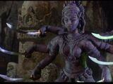 Hoysala Carving (Kali)