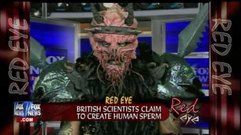 Red Eye On FOX News - 3rd Appearance by GWAR Frontman Oderus Urungus