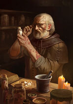 Pokątny alchemik Art