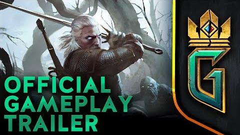 GWENT The Witcher Card Game Official Gameplay Trailer