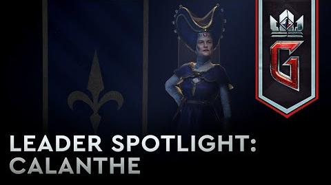 Leader Spotlight- Queen Calanthe