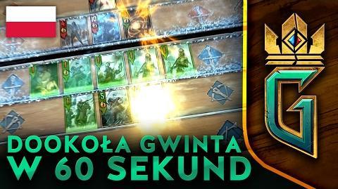 GWINT WIEDŹMIŃSKA GRA KARCIANA Dookoła GWINTA w 60 sekund