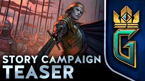 GWENT Thronebreaker STORY CAMPAIGN TEASER