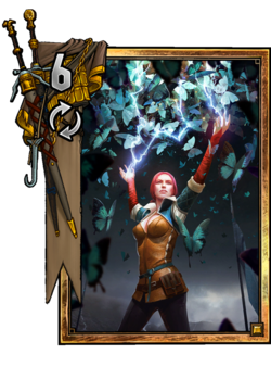 Triss; Butterfly Spell