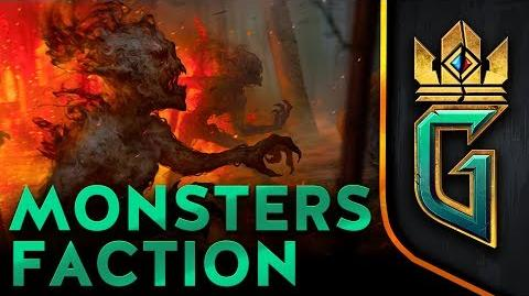 Monsters Faction GWENT The Witcher Card Game