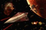Walka kosmiczna nad Geonosis