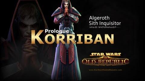 SWTOR Sith Inquisitor Story Part 1 - Prologue Korriban