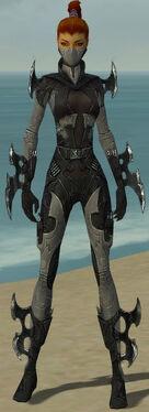 Assassin Kurzick Armor F gray front
